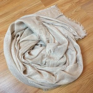 Express Shimmer Champagne Scarf